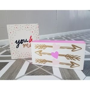 Other - You & Me Heart Valentine's Day Decorative Signs